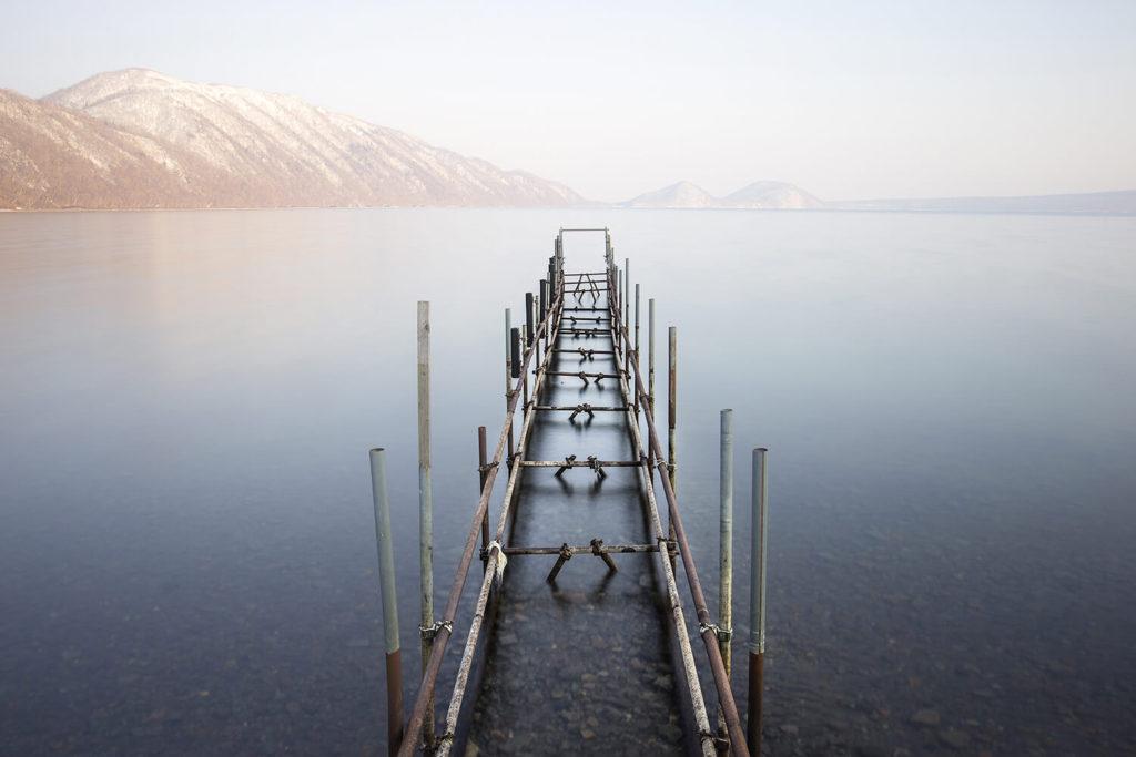 支笏湖画像